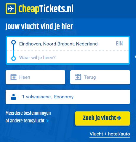 zoekfunctie-cheaptickets-eindhoven